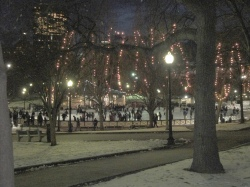 Boston Common Frog Pond ice rink