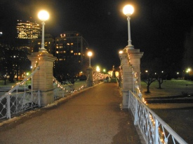 Boston Public Garden Bridge
