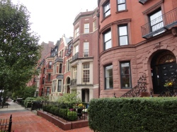 Back Bay mansions