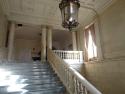 Aldrich Mansion Grand Marble Staircase