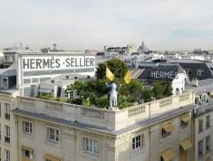 Paris roof garden Pinterest