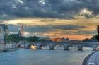 One of Paris's nine bridges (ponts) that span the Seine. Flickr