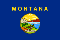 Montana's colorful state flag