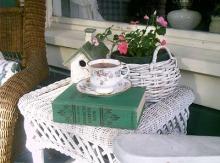 Tea on the Porch-ashtreecottage.blogspot.com